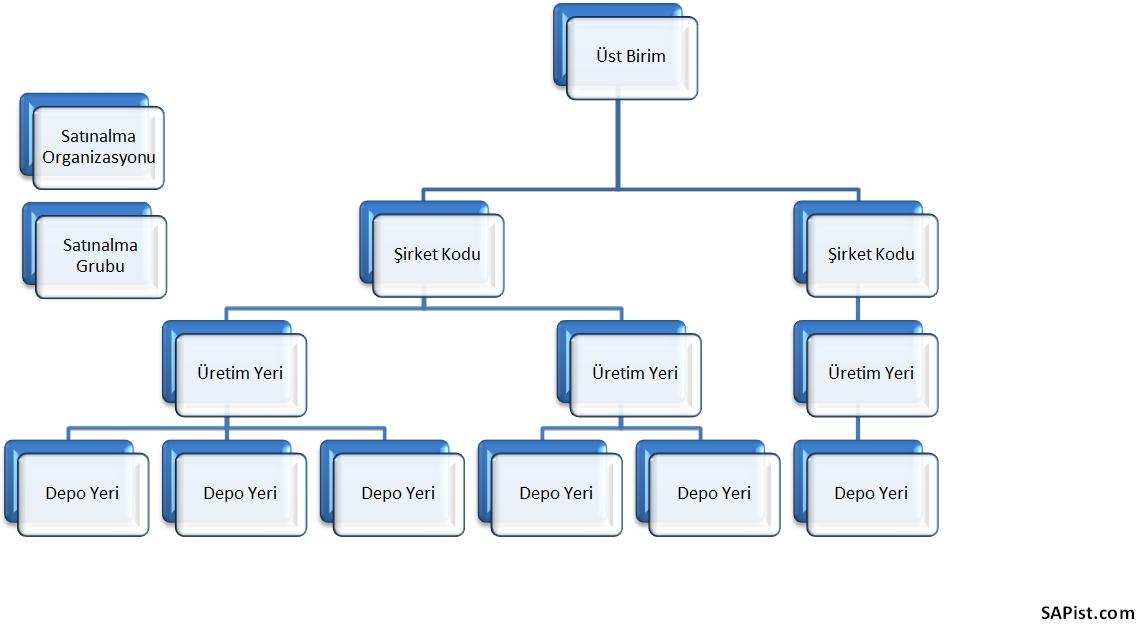 SAP MM Organizasyon yapısı